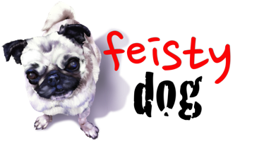 feisty dog logo